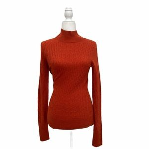 Aphorism Cable Knit Merino Wool  Turtleneck NWT